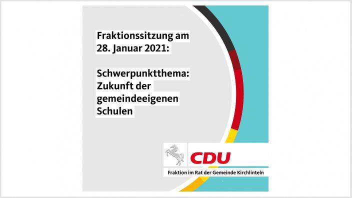 CDU berät über Zukunft der Schulen